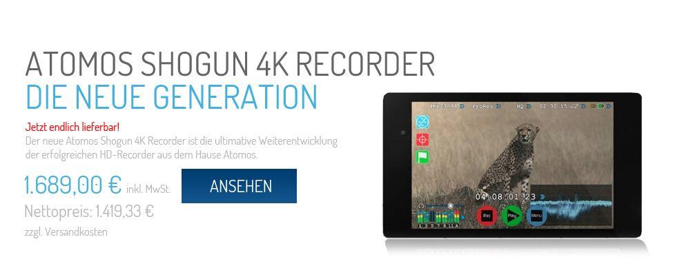 Atomos Shogun 4K Recorder