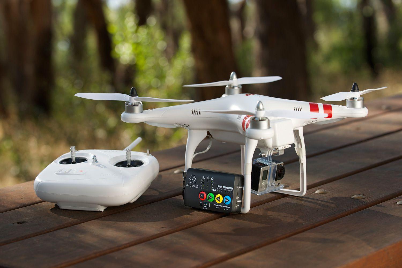 Atomos Ninja Star mit Drohne