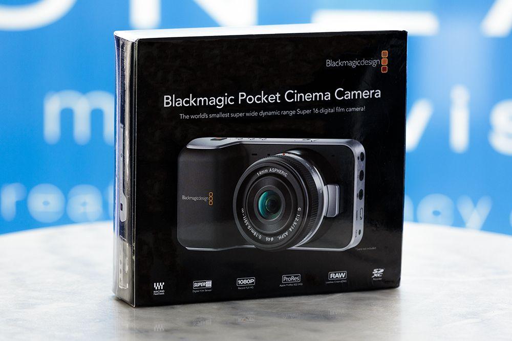 Blackmagic Pocket Cinema Camera Verpackung
