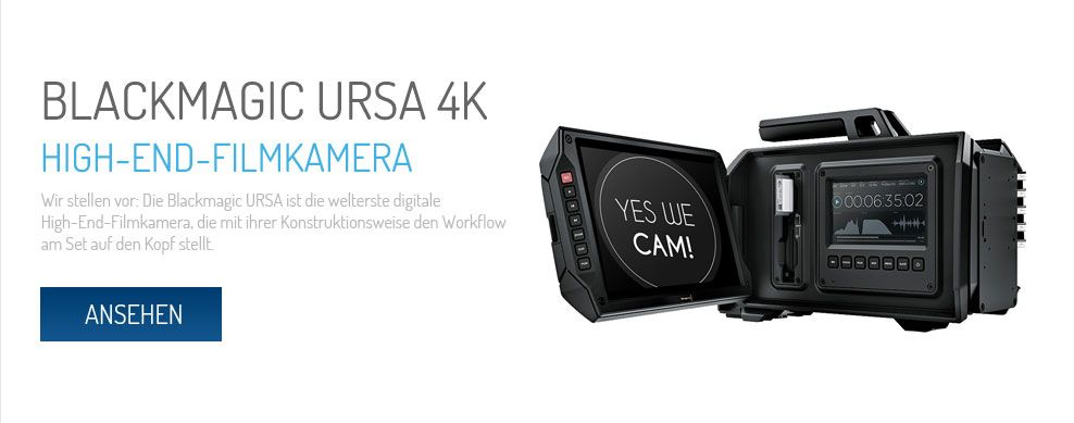 Blackmagic URSA 4K mit EF Mount