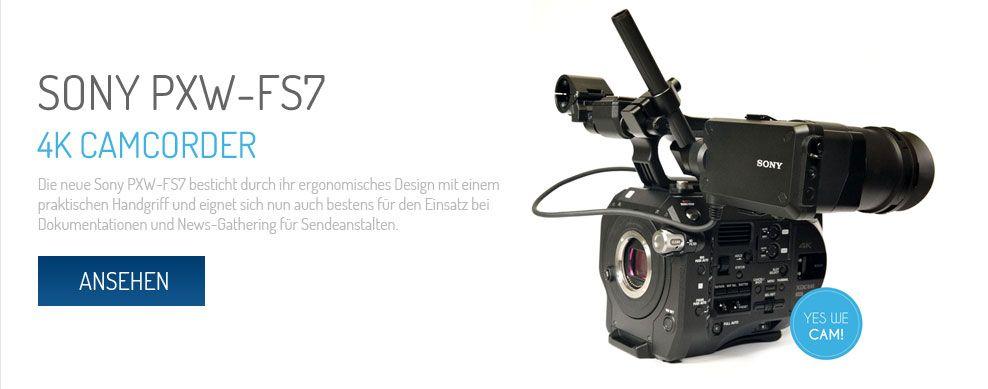 Sony PXW-FS7 Camcorder 4K