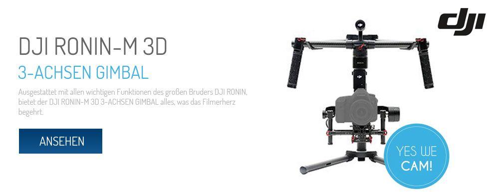 Dji Ronin-M 3D 3-Achsen Gimbal