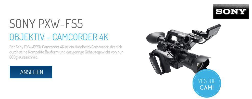 Sony PXW-FS5 Camcorder 4K
