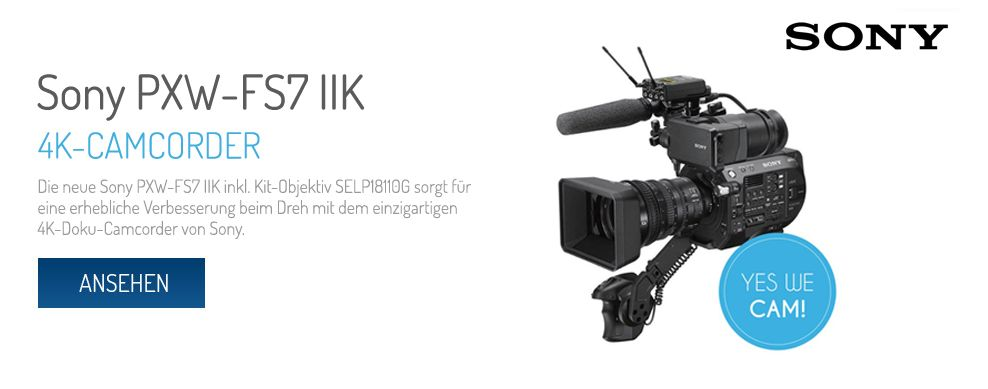 Sony FXW-FS7 IIK