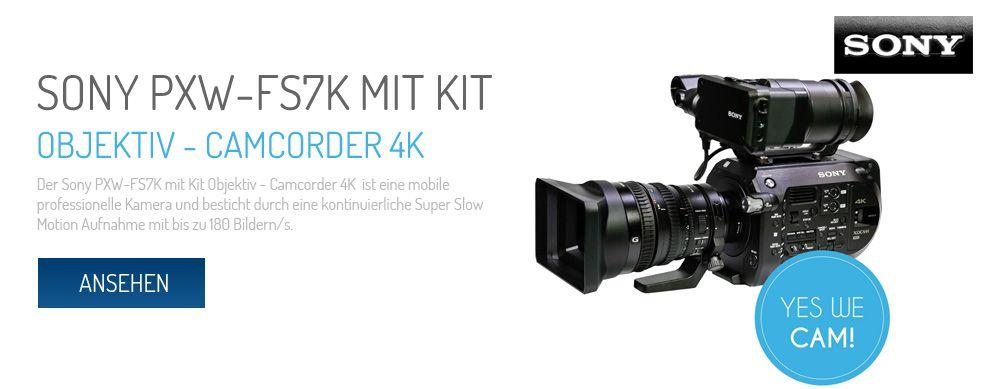 Sony FXW-FS7K mit Kit