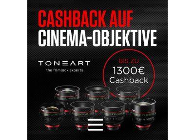 Cashback auf Canon Cinema Objektive!