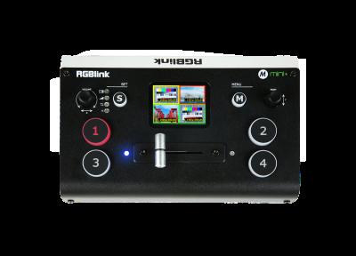 Bedienung und Funktionen von RGBlink Bildmischern und PTZ-Kameras