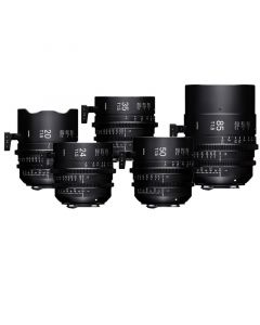 Sigma Cine Lenses der FF-High-Speed-Prime-Line im Set Fully Luminous 5er Set günstig