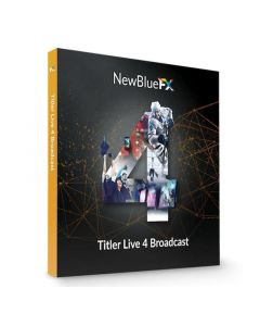 NewBlueFX Titler Live 4 Broadcast Software TriCaster Macro Control