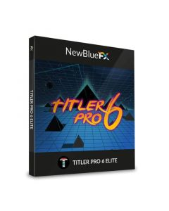 NewBlueFX Titler Pro 6 Elite Software Animations-Presets