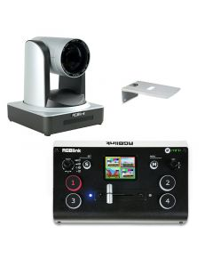 RGBlink PTZ Camera 12x incl. Wall Mount and Mini+ Switcher Livestreaming Anwendungen
