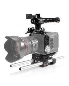 Shape full Camera Cage with 15mm LW Rod System for RED Komodo Baseplate