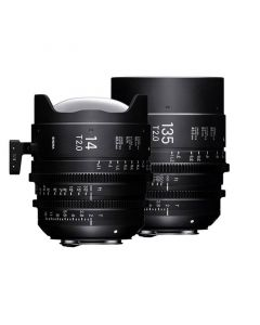 Sigma Cine Lenses - Set 14 mm T2 und 135 mm T2 FF Fully Luminous günstig