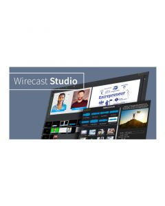 Telestream Wirecast Studio Mac + Free Switch Player (ESD*) Software