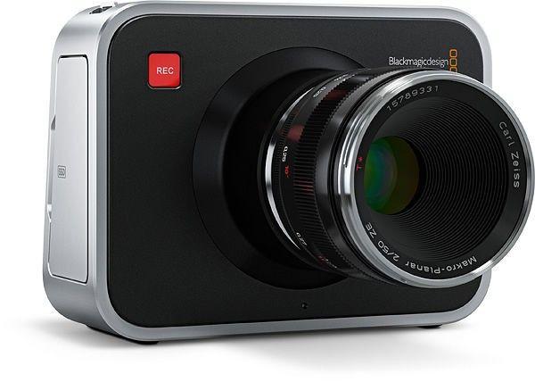 Blackmagic Desing Cinema Kamera Frontansicht