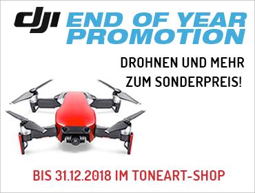 DJI End of Year Sale im TONEART-Shop
