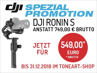 DJI Ronin S Spezial Promotion - TONEART-Shop