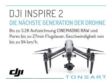 DJI Inspire 2 Aktion
