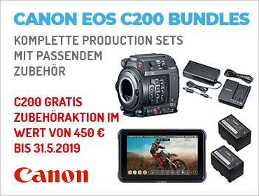 Canon EOS C200 Bundles - Komplette Production Sets mit passendem Zubehör - TONEART-Shop