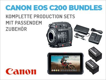 Canon EOS C200 Bundles - Komplette Production Sets mit passendem Zubehör - TONEART-Shop