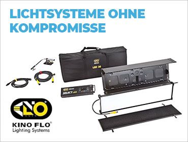 Kino Flo Lichtsysteme ohne Kompromisse - TONEART-Shop