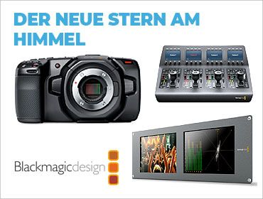 Blackmagic Design - Der neue Stern am Himmel - TONEART-Shop