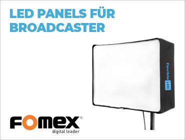 Fomex - LED Panels für Broadcaster - TONEART-Shop