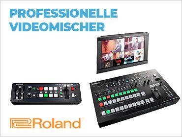 Roland - Professionelle Videomischer - TONEART-Shop