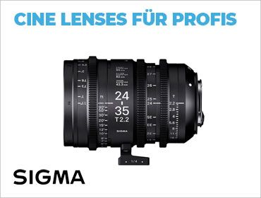 Sigma Cine lLenses für Profis - TONEART-Shop