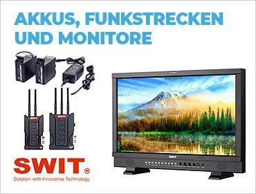 Swit Akkus, Funkstrecken, Monitore - TONART-Shop