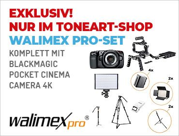 Walimex Pro Set - Komplett mit Pocket Cinema Camera 4K - TONEART-Shop