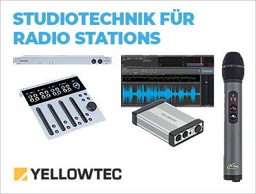 Yellowtec - Innovative Mikrofone und Technik für´s Radio - TONEART-Shop