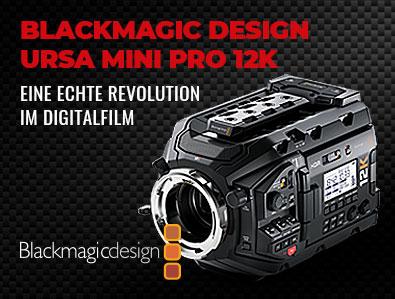 Blackmagic Design, URSA Mini Pro 12K, Cinema Camera, TONEART-Shop