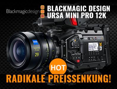 Blackmagic URSA 12K - Radikale Preissenkung! - TONEART-Shop