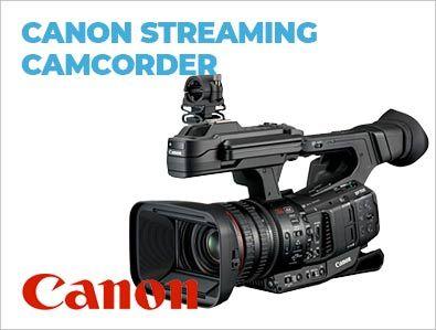 Canon, Streaming, Camcorder, TONEART-Shop