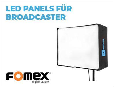 Fomex - LED Panels für Broadcaster - TONEART-Shop
