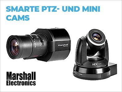 Marshall Electronis - Smarte PTZ- und Mini Cams - TONART-Shop