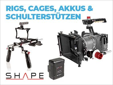 Shape - Rigs, Cages, Schulterstützen & Akkus - TONEART-Shop