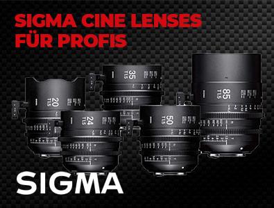 SIGMA Cine Lenses für Profis, TONEART-Shop