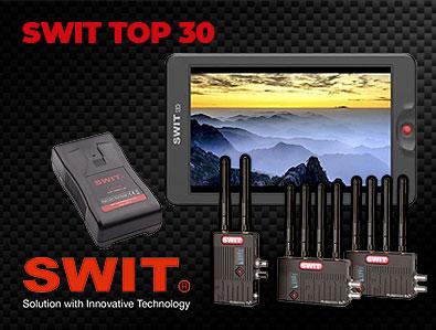 SWIT Top 30 – Broadcasting-Bestseller! - TONEART-Shop