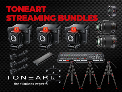 TONEART Streaming Bundles – Komplettsets für Ihren Anwendungsbereich!