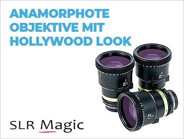 SLR Magic - Anamorphote Objektive mit Hollywood Look