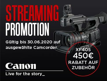 Canon Streaming Promotion - TONEART-Shop