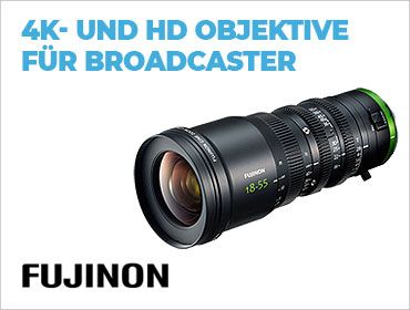 Fujinon - 4K- und HD Objektive für Broadcaster - TONART-Shop