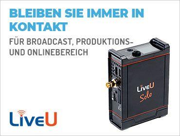 LiveU - Live-Übertragungslösungen - TONEART-Shop