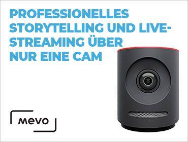 Mevo - Professionelles Storytelling und Livestreaming über nur eine Cam - TONEART-Shop