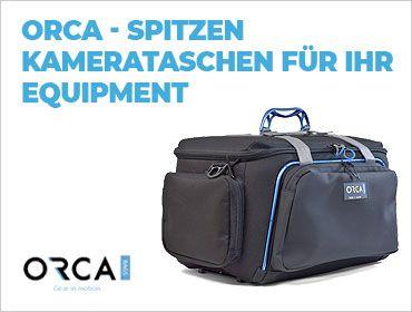 ORCA – Spitzen Kamerataschen für Ihr Equipment - TONEART-Shop