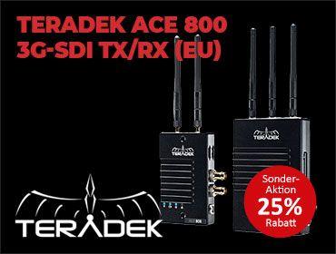 Teradek Ace 800 3G-SDI TX/RX - EU 25 Prozent-Aktion - TONEART-Shop