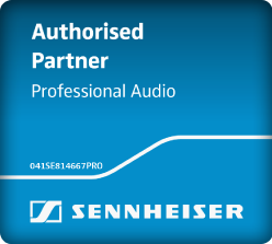 Senneiser Authorized Partner Professional Audio Logo