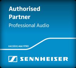 Senneiser Authorized Partner Professional Audio Logo